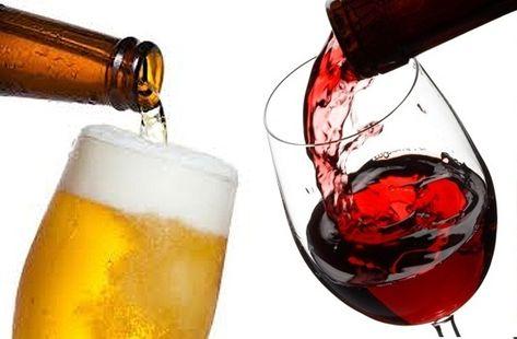 Descarte de Cazã de dependência alcoólica de